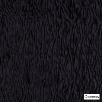 Fabric Library - Fold Phantom  | Curtain & Upholstery fabric - Black, Charcoal, Vermicular, Standard Width