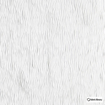 Fabric Library - Fold Gardenia  | Curtain & Upholstery fabric - Whites, Vermicular, Standard Width