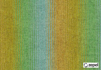 Zepel Fabrics - Native Yucca  | Upholstery Fabric - Green, Stripe, Railroaded, Oeko-Tex, Standard Width