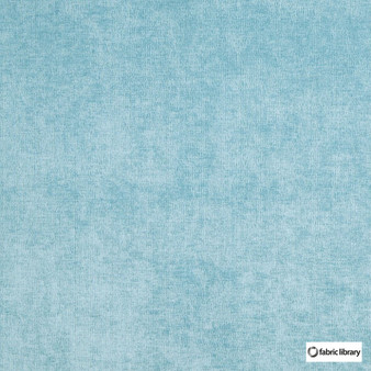 Fabric Library - Restful Pool    Upholstery Fabric - Blue, Water Repellent, Plain, Standard Width