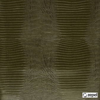 Zepel Fabrics - Chanson Olive    Upholstery Fabric - Brown, Standard Width