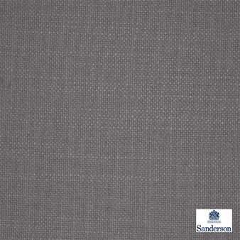 Sanderson Tuscany 234217  | Curtain & Upholstery fabric - Washable, Grey, Transitional, Plain, Texture, Fibre Blend, Standard Width