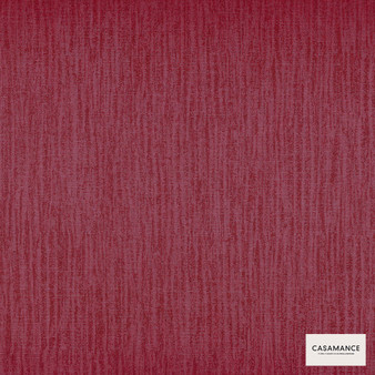 Casamance Fabrics & Wallpapers - Mayfair Plain Wallpaper 7338 7338 12 22  | Wallpaper, Wallcovering - Burgundy, Oeko-Tex, Plain, Strie, Fibre Blend