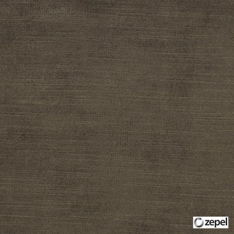 Zepel - St Moritz Chestnut  | Curtain & Upholstery fabric - Brown, Oeko-Tex, Plain, Standard Width