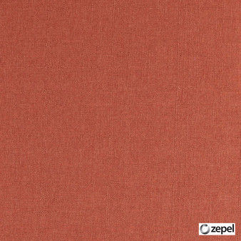 Zepel Fabrics - Chaplin Koi  | Upholstery Fabric - Orange, Oeko-Tex, Water Repellent, Plain, Standard Width