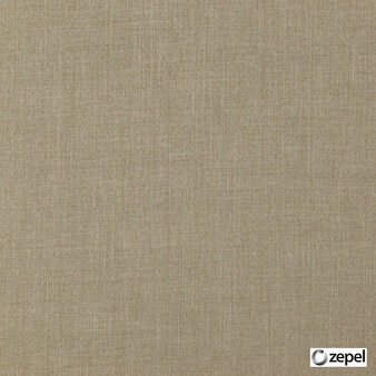 Zepel Fabrics - Cushy Putty  | Curtain & Upholstery fabric - Brown, Oeko-Tex, Plain, Standard Width