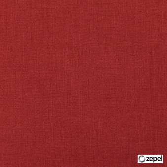 Zepel Fabrics - Cushy Cerise  | Curtain & Upholstery fabric - Red, Oeko-Tex, Plain, Standard Width