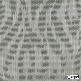 Zepel Fabrics - Abstract Taupe  | Curtain & Upholstery fabric - Grey, Oeko-Tex, Abstract, Ogee, Fibre Blend, Standard Width