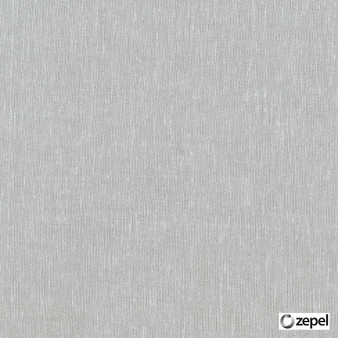 Zepel - Allusion Silver    Curtain & Upholstery fabric - Grey, Wide-Width, Oeko-Tex, Natural, Plain, Natural Fibre