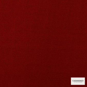 Casamance Fabrics & Wallpapers - Boston Ii A501 31 97  | Curtain & Upholstery fabric - Brown, Plain, Red, Natural Fibre, Commercial Use, Natural, Standard Width