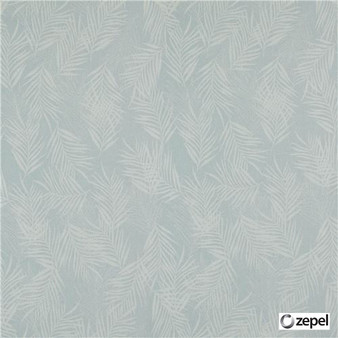 Zepel Fabrics - Banyan Ocean  | Curtain & Upholstery fabric - Floral, Garden, Synthetic, Commercial Use, Domestic Use, Oeko-Tex,  Standard Width, Feathers
