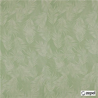 Zepel Fabrics - Banyan Oasis  | Curtain & Upholstery fabric - Floral, Garden, Synthetic, Commercial Use, Domestic Use, Oeko-Tex,  Standard Width, Feathers