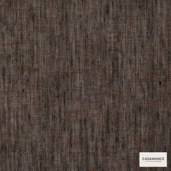 Casamance Fabrics & Wallpapers - Illusion Iii 150 A 258 72 58  | Curtain & Upholstery fabric - Brown, Plain, Natural Fibre, Commercial Use, Domestic Use, Natural