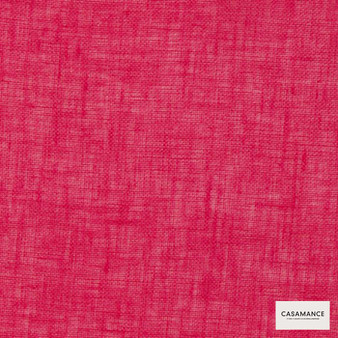 Casamance Fabrics & Wallpapers - Illusion Iii 150 A 258 52 87  | Curtain & Upholstery fabric - Plain, Red, Natural Fibre, Commercial Use, Domestic Use, Natural, Standard Width