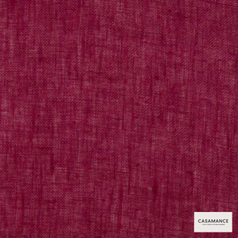Casamance Fabrics & Wallpapers - Illusion Iii 150 A 258 46 36  | Curtain & Upholstery fabric - Burgundy, Plain, Natural Fibre, Commercial Use, Domestic Use, Natural