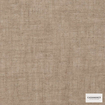 Casamance Fabrics & Wallpapers - Illusion Iii 150 A 258 36 07  | Curtain & Upholstery fabric - Beige, Plain, Natural Fibre, Commercial Use, Domestic Use, Natural
