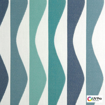 Uv Pro Fabrics - Ray Agate  | Curtain & Upholstery fabric - Geometric, Midcentury, Outdoor Use, Synthetic, Commercial Use, Oeko-Tex,  Standard Width