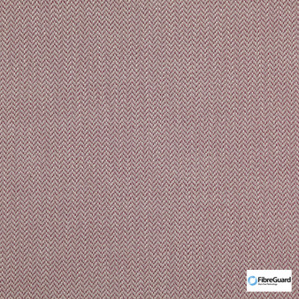 Fibreguard - Iconji Peony  | Upholstery Fabric - Burgundy, Fire Retardant, Plain, Synthetic, Chevron, Zig Zag, Commercial Use, Oeko-Tex,  Standard Width
