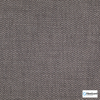 Fibreguard - Iconji Charcoal  | Upholstery Fabric - Fire Retardant, Grey, Plain, Synthetic, Chevron, Zig Zag, Commercial Use, Oeko-Tex,  Standard Width