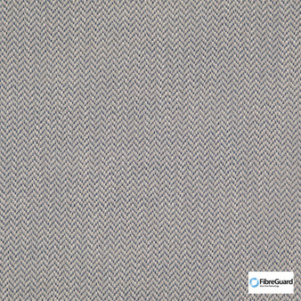 Fibreguard - Iconji Denim  | Upholstery Fabric - Fire Retardant, Grey, Plain, Synthetic, Chevron, Zig Zag, Commercial Use, Oeko-Tex,  Standard Width