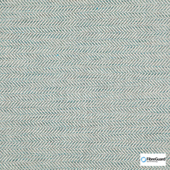 Fibreguard - Kaomoji Baltic  | Upholstery Fabric - Fire Retardant, Plain, Synthetic, Commercial Use, Herringbone, Oeko-Tex,  Standard Width