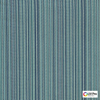 Uv Pro Fabrics - Era Curacao  | Curtain & Upholstery fabric - Outdoor Use, Stripe, Synthetic, Commercial Use, Domestic Use, Oeko-Tex,  Standard Width