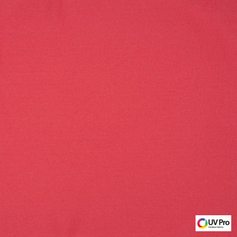 Uv Pro Fabrics - Outdoors Sorbet  | Curtain & Upholstery fabric - Plain, Red, Outdoor Use, Synthetic, Commercial Use, Oeko-Tex,  Standard Width