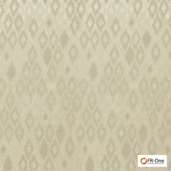Fr One Fabrics - Ganymede Fr Sand  | Curtain & Upholstery fabric - Beige, Fire Retardant, Synthetic, Commercial Use, Diamond - Harlequin, Domestic Use, Oeko-Tex