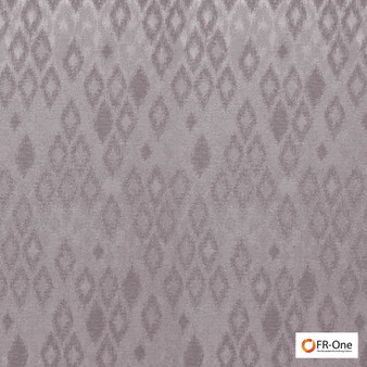 Fr One Fabrics - Ganymede Fr Iris  | Curtain & Upholstery fabric - Fire Retardant, Pink, Purple, Synthetic, Commercial Use, Diamond - Harlequin, Domestic Use, Oeko-Tex