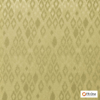 Fr One Fabrics - Ganymede Fr Gold  | Curtain & Upholstery fabric - Fire Retardant, Gold,  Yellow, Synthetic, Commercial Use, Diamond - Harlequin, Domestic Use, Oeko-Tex
