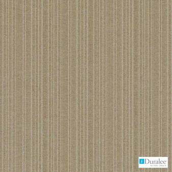 Duralee - 9121-494 - Sesame  | Curtain Fabric - Fire Retardant, Stripe, Synthetic, Washable, Standard Width