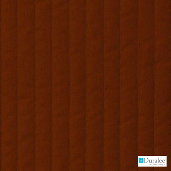 Duralee - 9174-9 - Red  | Upholstery Fabric - Fire Retardant, Brown, Stripe, Dry Clean, Stain Repellent, Velvets, Backing, Standard Width