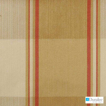 Duralee - 15545-62 - Antique Gold  | Upholstery Fabric - Fire Retardant, Gold,  Yellow, Teflon, Stripe, Synthetic, Commercial Use, Dry Clean, Standard Width