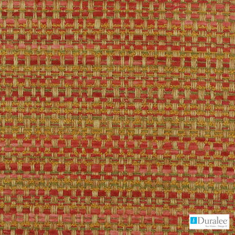 Duralee - 15571-38 - Russett  | Upholstery Fabric - Fire Retardant, Teflon, Stripe, Synthetic, Dry Clean, Standard Width, Strie