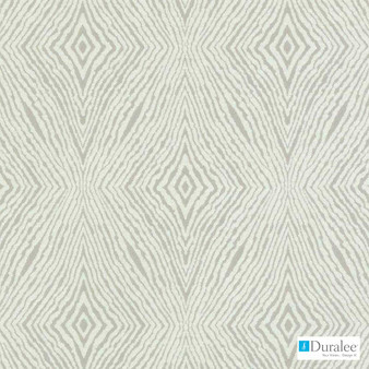 Duralee - 15660-120 - Taupe    Upholstery Fabric - Beige, Fire Retardant, Ikat, Synthetic, Chenille, Diamond - Harlequin, Dry Clean, Standard Width