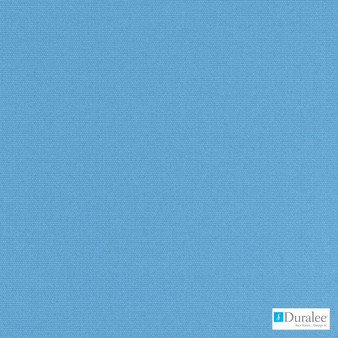 Duralee - 15707-260 - Aquamarine  | Upholstery Fabric - Blue, Plain, Outdoor Use, Synthetic, Standard Width