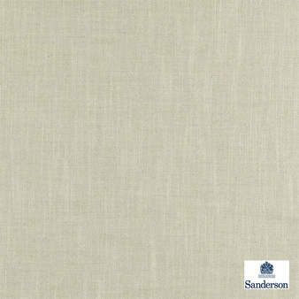 Sanderson Apley 235664  | Curtain Fabric - Plain, White, Fibre Blends, Industrial, Domestic Use, White, Standard Width, Strie