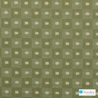Duralee - 32692-343 - Cactus  | Curtain & Upholstery fabric - Check, Fibre Blends, Geometric, Chenille, Dry Clean, Standard Width