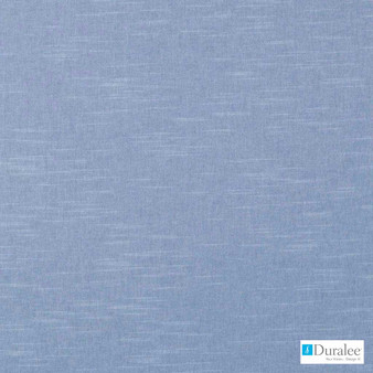 Duralee - 32698-59 - Sky Blue  | Curtain & Upholstery fabric - Blue, Plain, Natural Fibre, Dry Clean, Natural, Standard Width, Strie