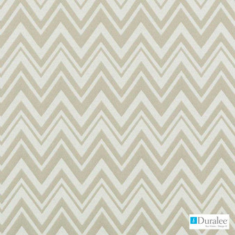 Duralee - 32740-247 - Straw  | Curtain & Upholstery fabric - Beige, Fibre Blends, Chevron, Zig Zag, Dry Clean, Standard Width