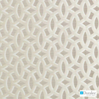 Duralee - 32751-110 - Tobacco  | Curtain & Upholstery fabric - Synthetic, Tan, Taupe, Dry Clean, Lattice, Trellis, Standard Width