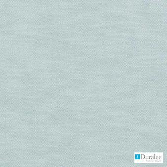 Duralee - 32760-11 - Turquoise  | Curtain & Upholstery fabric - Plain, Natural Fibre, Dry Clean, Natural, Standard Width, Strie