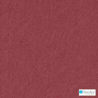 Duralee - 32811-224 - Berry  | Curtain & Upholstery fabric - Plain, Red, Fibre Blends, Dry Clean, Standard Width