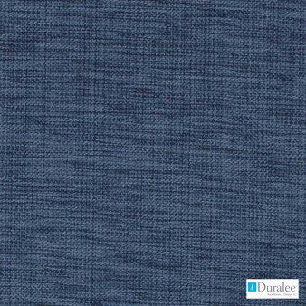 Duralee - 32819-206 - Navy    Curtain & Upholstery fabric - Blue, Dry Clean, Natural, Plain, Strie, Natural Fibre, Standard Width, Strie