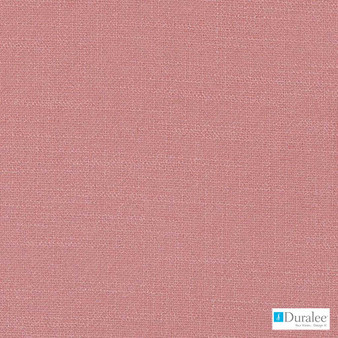 Duralee - 32824-4 - Pink  | Curtain & Upholstery fabric - Plain, Red, Synthetic, Dry Clean, Standard Width