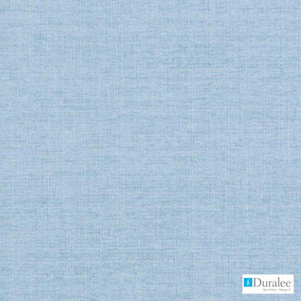 Duralee - 36247-59 - Sky Blue  | Upholstery Fabric - Blue, Plain, Synthetic, Backing, Chenille, Dry Clean, Backing, Standard Width