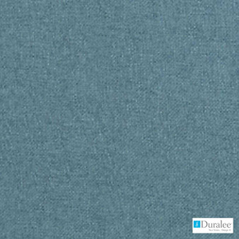 Duralee - 36250-246 - Aegean  | Upholstery Fabric - Blue, Plain, Synthetic, Chenille, Dry Clean, Standard Width