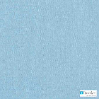 Duralee - 36262-11 - Turquoise  | Curtain & Upholstery fabric - Blue, Plain, Natural Fibre, Dry Clean, Natural, Standard Width