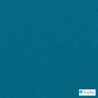 Duralee - 36262-339 - Caribbean  | Curtain & Upholstery fabric - Blue, Plain, Natural Fibre, Dry Clean, Natural, Standard Width