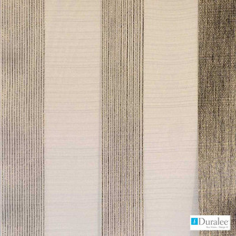 Duralee - 51331-433 - Mineral  | Curtain & Curtain lining fabric - Beige, Brown, Fire Retardant, Silver, Stripe, Abstract